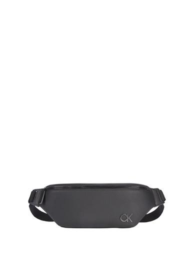 Calvin Klein Calvin Klein Erkek Siyah Bel Çantası Siyah